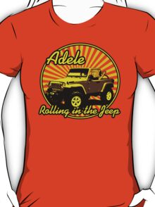 Adele - Rolling In The Jeep T-Shirt