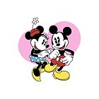 Mickey and Minnie by LauraWoollin