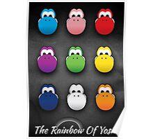The Rainbow Of Yoshi Poster
