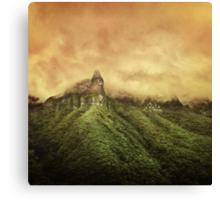 Corvus Peak Canvas Print
