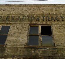 Old Tractor Store by WildestArt