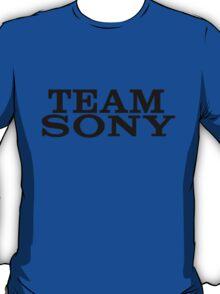 Team Sony (Black Font) T-Shirt