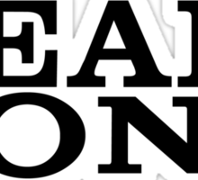 Team Sony (Black Font) Sticker