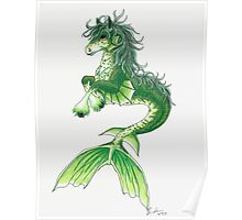 Kelpie Mystical Sea Monster Poster