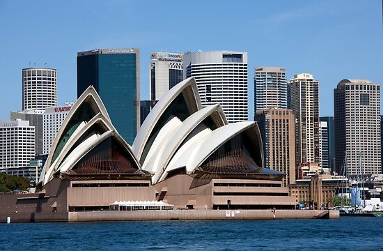 Six Shells Of Sydney by phil decocco