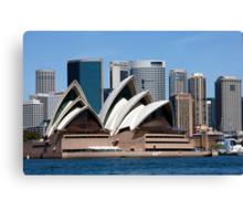 Six Shells Of Sydney Canvas Print