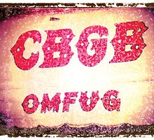 CBGB rock n roll music print photographic print guitar art music wall decor by guitarartprint