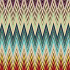 Zig Zag Striped Pattern by LABELSTONE