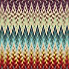 Zig Zag Striped Patterns by LABELSTONE