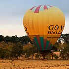 Ballooning in The Yarra Valley, Victoria by Pauline Tims
