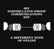 Do-It-Yourself Surveillance-Proof Communications Kit by Samuel Sheats