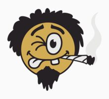 Cool Joint Smoker Smiley Face Design by Style-O-Mat