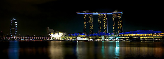 Marina Bay Sands - Singapore by Fern Blacker