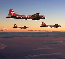 B17- 511 Sqdn - A Winter's Tale by warbirds