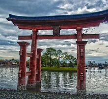 Japan Pavilion Torii High Dynamic Range by wishfotografia