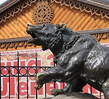 Bear in Yaroslavl by pisarevg