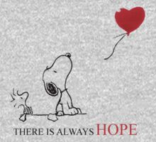 Snoopy - There is always hope Kids Clothes