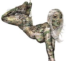 1st Special Forces Group Pinup by MilitaryPinups