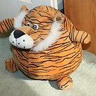 Tiger DoorStop by AnnDixon