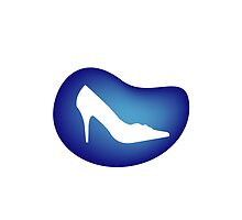 Shoe on blue drop by amelislam