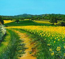 Downland Gold by Paula Oakley