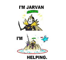 Jarvan iPhone Case by Gaandi