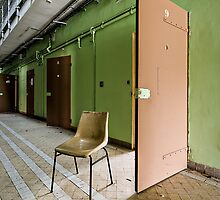 Prison chair  by Jean-Claude Dahn