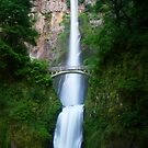 Multnomah Falls by Don Rankin