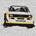 Audi Quattro S1 Rally Car by Lynchie