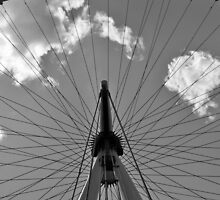 Four pods of the London Eye by Kelly Eaton