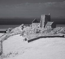 The Old Church Of St Nicholas, Uphill. by Antony R James