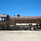 Abandoned Train in Uyuni Desert, Bolivia by Mon Zamora