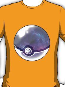 Galaxy Pokeball. T-Shirt