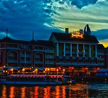 Disney's Boardwalk Resort High Dynamic Range by wishfotografia