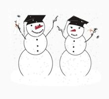 Graduation Day for Snowmen by Gravityx9