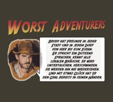 WORST ADVENTURERS - Indy Brody Bluff (deutsch) by haegiFRQ