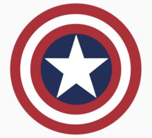 Captain America Shield by AbbieHiddleston