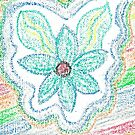 Oil Pastel Flower by shinyjill