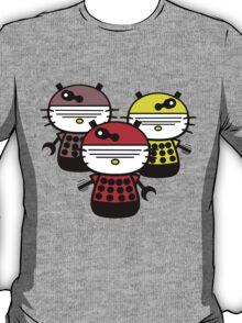 Dalek Kitty Invasion T-Shirt