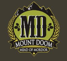 LOTR - Mount Doom - Mead Of Mordor by MajorTees