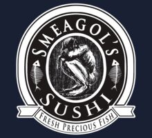 LOTR - Smeagols Sushi Bar - Fresh Precious Fish by MajorTees