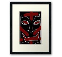 the Oduktubu Magic Mask Framed Print