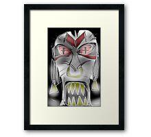 jenlakwa seiye, evil spirit mask Framed Print