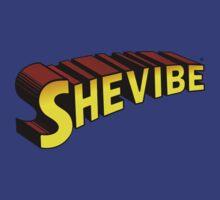 SheVibe Superman Style Logo by shevibe