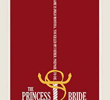 The Princess Bride Minimalist Movie Poster by libbbyr