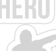Zombie Survival Guide - Rule #17: Be A Hero Sticker