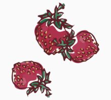 Decorative Strawberry Kids Clothes
