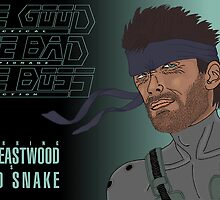 The Good, The Bad and The Boss - A Metal Gear Movie (Snake) by LaGueule