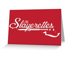 The Slayerettes - RED Greeting Card