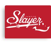 Vampire Slayer - RED Canvas Print